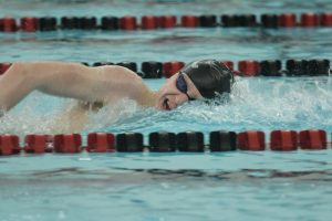 Crouch: 'The sky's the limit' for Hawk swimmers