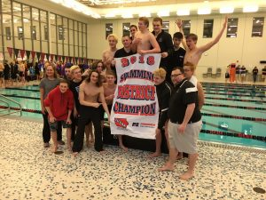 Ankeny swimmers outduel No. 1 Ames to win first district title since 2012
