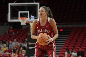 Oklahoma women top Iowa State on Manning's Senior Night