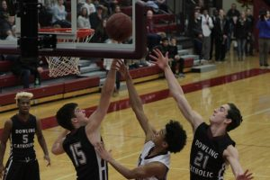 Hawks 'run out of gas' in loss to Dowling Catholic