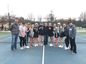 Centennial wins No. 3 doubles flight at Johnston Invitational, places 4th overall