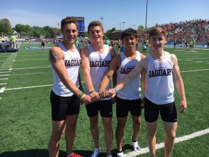 STATE CHAMPS: Centennial boys race to victory in 4×200 relay