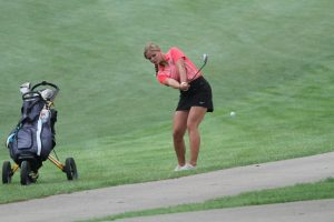 Jaguars struggle to a 389 on opening day of state golf meet