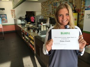 Blimpie Sub of the Week: Emma Stoelk, Ankeny Centennial girls' golf