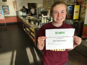 Blimpie Sub of the Week: Madi McCormick, Ankeny girls' golf