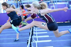 Rumley wins long jump title, but Jaguars edge Ankeny for 4th at conference meet