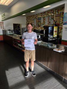 Blimpie Sub of the Week: Zach Petersen, Ankeny Centennial boys' tennis