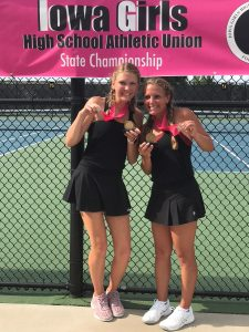 Rally falls short; Centennial doubles team earns 6th-place finish