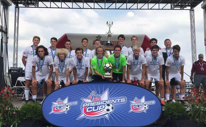 Iowa Rush 18U boys' team captures national championship