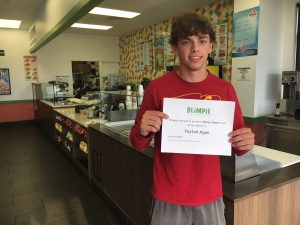 Blimpie Sub of the Week: Peyton Agan, Ankeny baseball