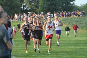 Centennial's Gabe Vicker uses late charge to win Ames Invitational title