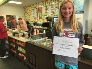 Blimpie Sub of the Week: Katie Jensen, Ankeny Centennial girls' cross country