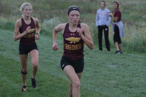 Hawkette runners make positive strides at S.E. Polk Invitational