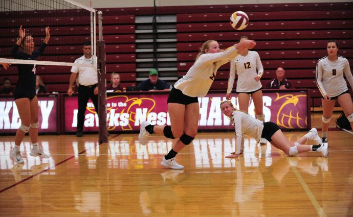 Hawkettes rally past Waverly-Shell Rock to claim Boone Invitational title