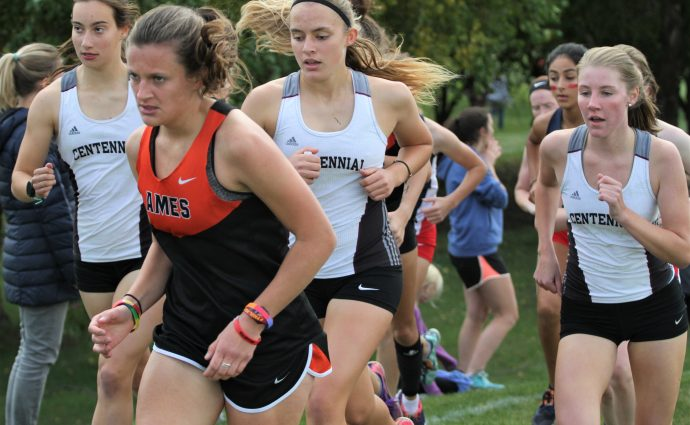 Centennial girls earn another trip to state; Jonah Vicker also qualifies