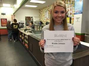 Blimpie Sub of the Week: Brooke Johnson, Ankeny girls' cross country