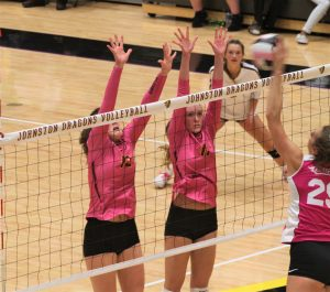 Hawkettes sweep Johnston, earn runner-up finish in conference