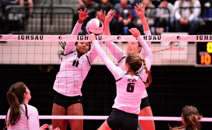 Centennial's Robinson, Sauer named to Elite all-state volleyball team