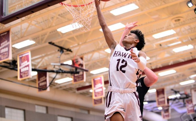 Hawks deliver early knockout punch, then hold off Centennial rally