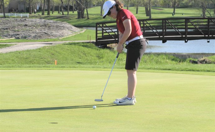 Ankeny golfers earn long-awaited first dual-meet victory over Jaguars