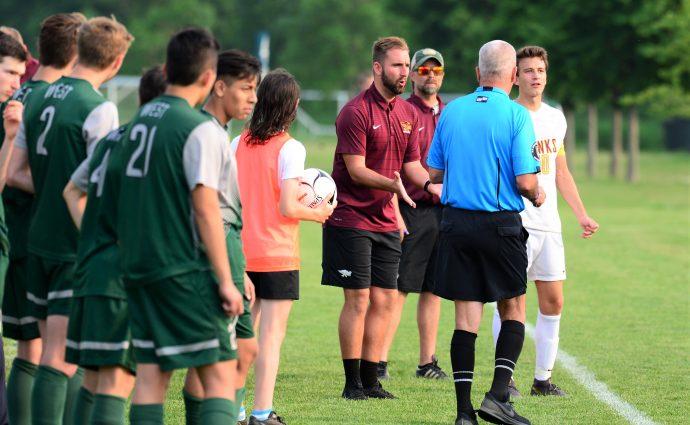 'Hard to walk away': Ankeny's Burns resigns as boys' soccer coach