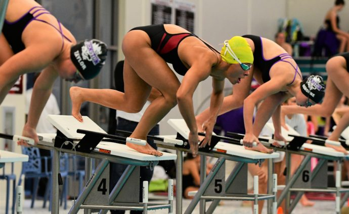 Ankeny swimmers top Johnston in return to their home pool at Trail Point