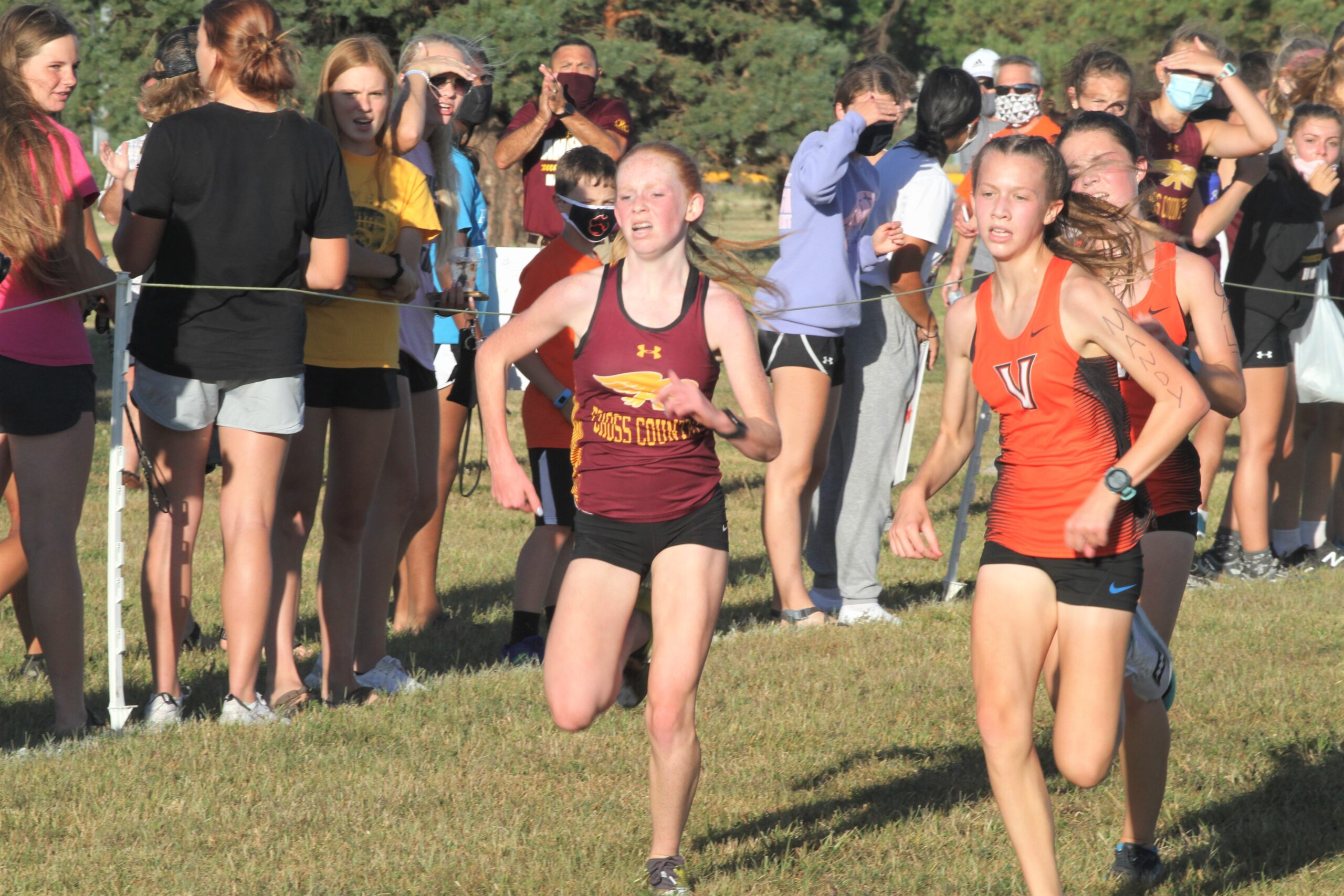 McMahon stays unbeaten, leads Ankeny girls to their first team crown since 2015