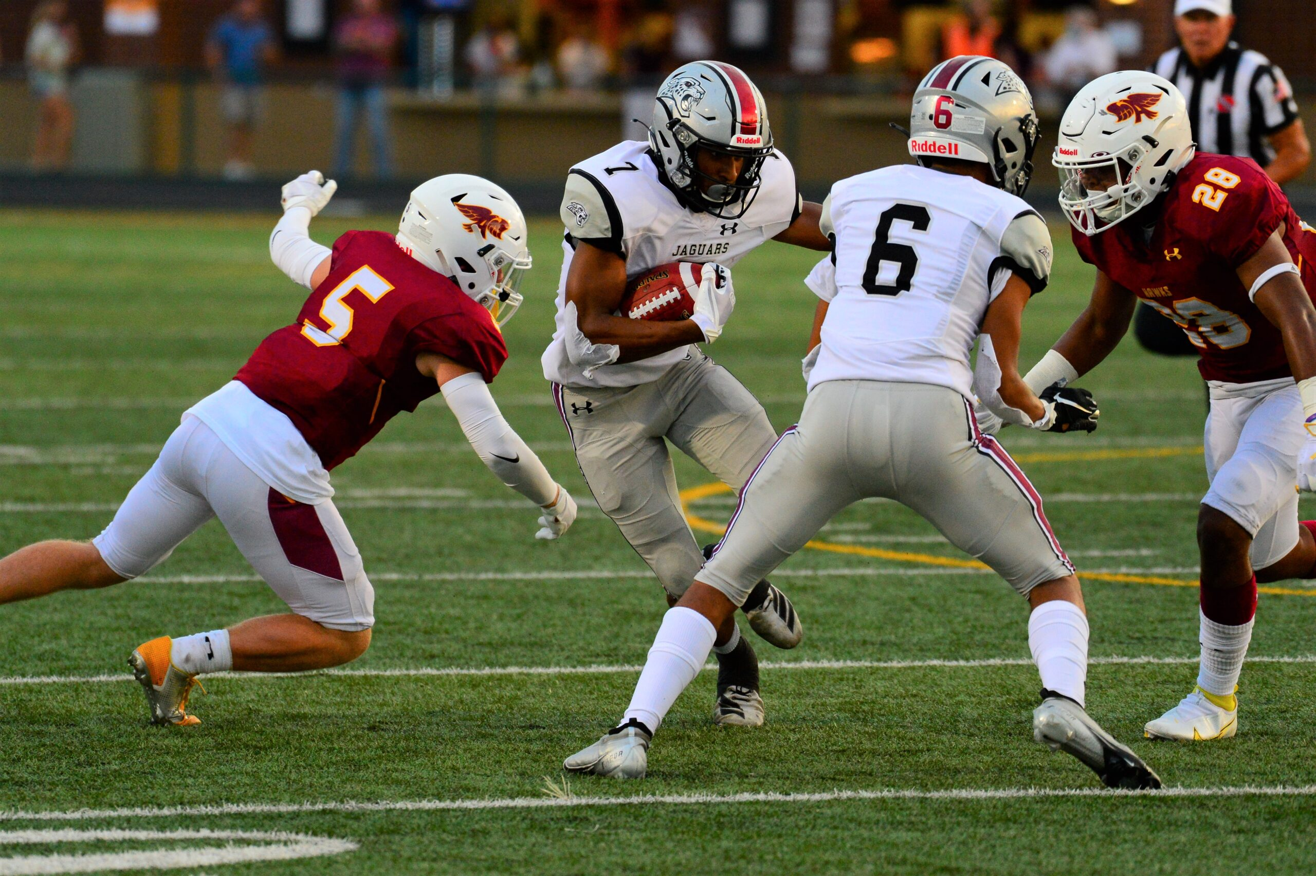 Pezzetti moves closer to all-time record as Jaguars romp past Sioux City East