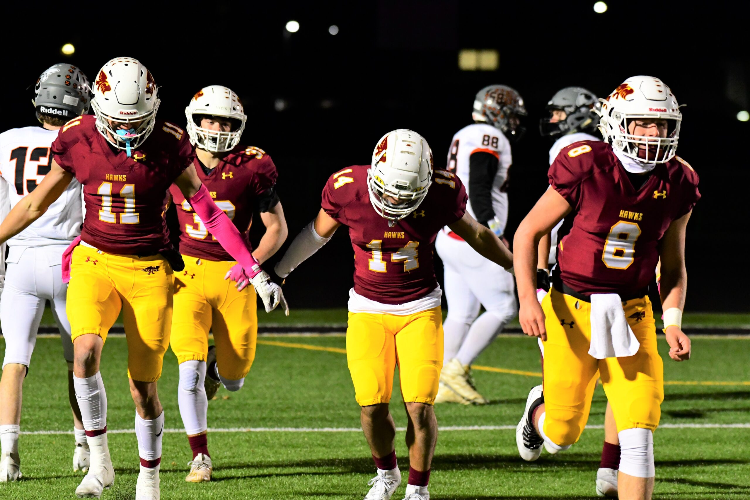 Four Ankeny players named to Register's all-Iowa elite football team