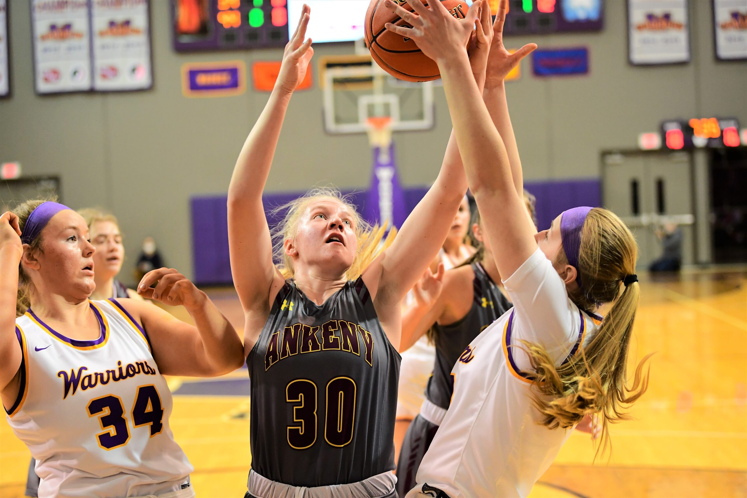 'Our girls battled all the way': Hawkettes finish season with loss to No. 1 Waukee