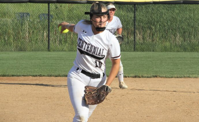 Centennial pitcher Wendt to play softball at Northwestern College