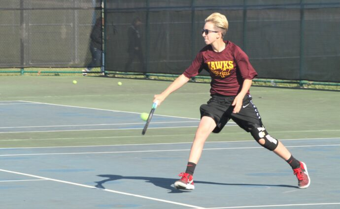 Ames girls win several close matches in 9-2 victory over Hawkettes
