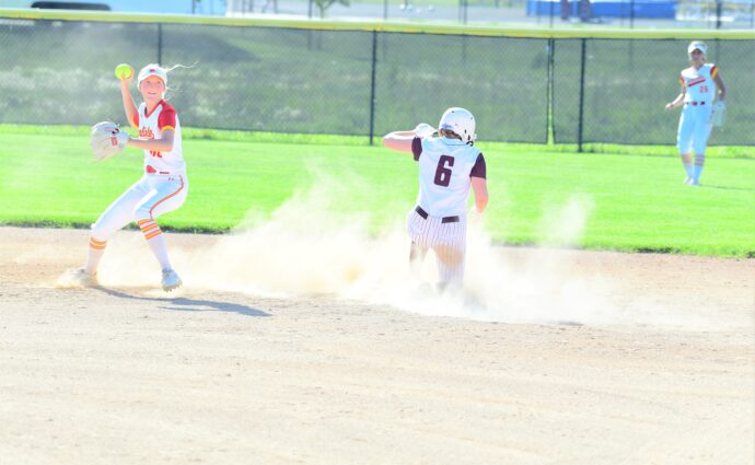 Overturf knocks in 5 runs, helps Ankeny girls salvage split of twinbill at Ames