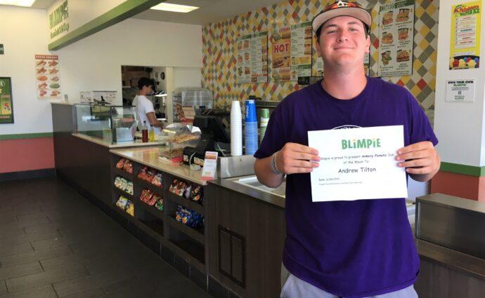 Blimpie Sub of the Week: Andrew Tilton, Ankeny Centennial baseball