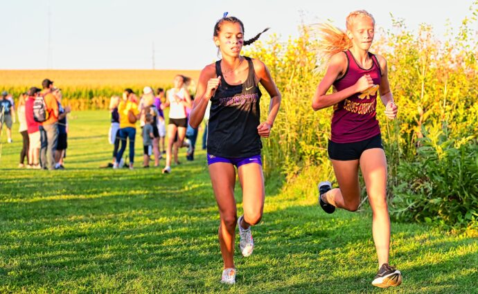 Macke leads Hawkettes to runner-up finish at Cedar Falls; Hawks place 3rd