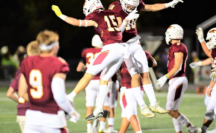 Hawks take down No. 1 S.E. Polk in rematch of last year's Class 4A title game